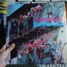 Discos de vinilo: REFERENCIA DISCOS CAJA 123 - DISCO GRANDE - CANTARES DE ESPAÑA. Lote 49642150