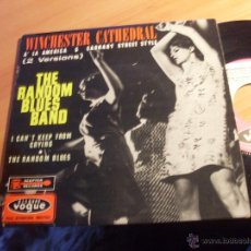 Discos de vinilo: THE RANDOM BLUES BAND (WINCHESTER CATHEDRAL + 3) EP FRANCIA 1966 (VG+/EX+) (EP13). Lote 49643462