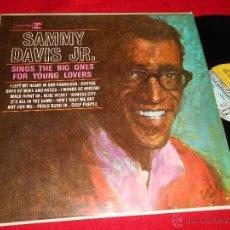Discos de vinilo: SAMMY DAVIS JR. SINGS THE BIG ONES FOR YOUNG LOVERS LP REPRISE R-6131 EDICION INGLESA ENGLAND UK. Lote 49645040