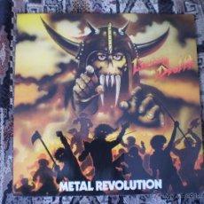 Discos de vinilo: LP. LIVING DEATH. METAL REVOLUTION.. Lote 49647694