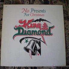 Discos de vinilo: MAXI 12. KING DIAMOND. NO PRESENTS FOR CHRISTMAS. Lote 49647747