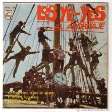 Discos de vinilo: CARNAVAL DE CÁDIZ.LOS YE-YES GADITANOS.EP PHILIPS.1966. Lote 49648814