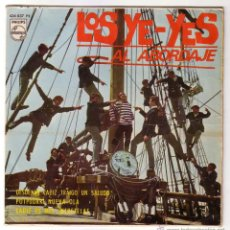 Discos de vinilo: CARNAVAL DE CÁDIZ.LOS YE-YES GADITANOS.EP PHILIPS.1966. Lote 49648878
