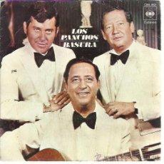 Discos de vinilo: LOS PANCHOS SG CBS 1974 BASURA/ AH QUE GENTE. Lote 49649177