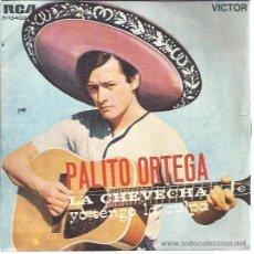 Discos de vinilo: PALITO ORTEGA SG RCA 1969 LA CHEVECHA/ YO TENGO LA CULPA CANCION DEL VERANO. Lote 49651345