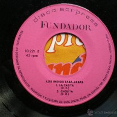 Discos de vinilo: EP FUNDADOR LOS INDIOS TABA JARAS VER FOTOS TITULOS 1971. Lote 49654590