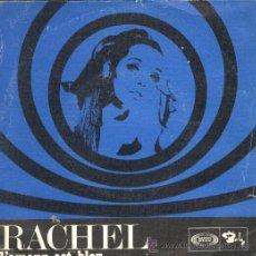 Discos de vinilo: RACHEL SG SONOPLAY 1968 L'AMOUR EST BLEU/ OU EST L'AMOUR EUROVISION COVER. Lote 49660026