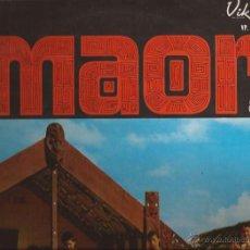 Discos de vinilo: LP-THE MUSICAL MOODS OF THE MAORI VIKING 50 NEW ZEALAND WAI PATU CONCERT PARTY EXOTICA . Lote 49664614