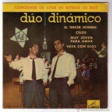 Discos de vinilo: DÚO DINÁMICO.EP LA VOZ DE SU AMO.1961. Lote 49665507