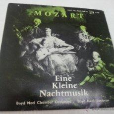 Discos de vinilo: EINE KLEINE NACHTMUSIK-MOZART-BOYD NEEL-CONCERT HALL -M 931-2186 401. Lote 49666823