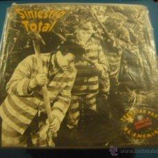 Discos de vinilo: SINIESTRO TOTAL - TRABAJAR PARA EL ENEMIGO -2 LP - 30 EXITOS - DRO 1992. Lote 49666886