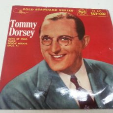 Discos de vinilo: TOMMY DORSEY Y SU ORQUESTA-SONG OF INDIA + 3 -EP -RCA-RCX 1002-MADE IN ENGLAND-2168 403. Lote 49667030
