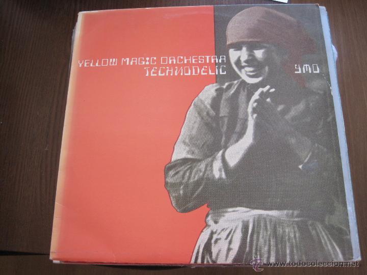 YELLOW MAGIC ORCHESTRA - TECHNODELIC - LP ALFA SPAIN 1982 (Música - Discos - LP Vinilo - Pop - Rock - New Wave Extranjero de los 80)