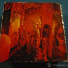Discos de vinilo: WASP, LIVE IN THE RAW. Lote 49667991
