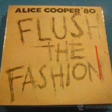 Discos de vinilo: ALICE COOPER ( FLUSH THE FASHION ) USA 1980 LP. Lote 49668242