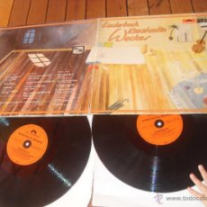 Discos de vinilo: KONSTANTIN WECKER 2 LP LIEDERBUCH DOUBLE LP MADE IN GERMANY 1977. Lote 49668255