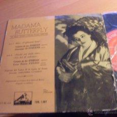 Discos de vinilo: VICTORIA DE LOS ANGELES STEFANO CANALI (MADAMA BUTTERFLY) EP ESPAÑA 1958 (EX/VG) (EP13). Lote 49673809