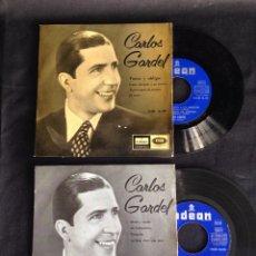 Discos de vinilo: LOTE 2 DISCOS CARLOS GARDEL!!!!!!. Lote 49674259