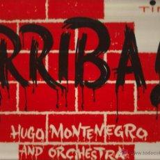 Discos de vinilo: LP HUGO MONTENEGRO : ARRIBA !. Lote 49674585