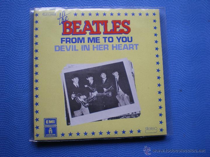 THE BEATLES FROM ME TO YOU SINGLE FRANCIA 1976 PDELUXE (Música - Discos - Singles Vinilo - Pop - Rock Extranjero de los 50 y 60)