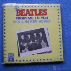 Discos de vinilo: THE BEATLES FROM ME TO YOU SINGLE FRANCIA 1976 PDELUXE. Lote 49675308