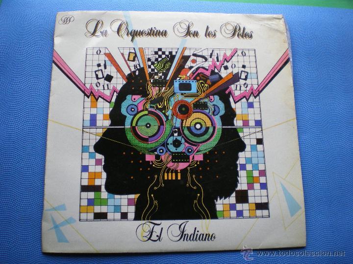 ORQUESTINA SON LES POLES EL INDIANO (S.F.A. 1986) LP ASTURIAS (Música - Discos - LP Vinilo - Country y Folk)