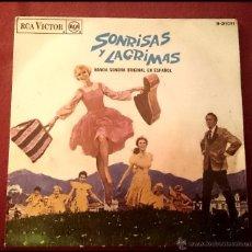 Discos de vinilo: SONRISAS Y LAGRIMAS - BANDA SONORA ORIGINAL EN ESPAÑOL - RCA 1966. Lote 49678906