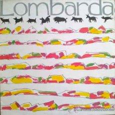 Discos de vinilo: LOMBARDA - MÚSICA TRADICIONAL - LP VINILO. Lote 26719948