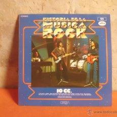 Discos de vinilo: 10 CC. HISTORIA DE LA MUSICA ROCK Nº 99 MERCURY. Lote 49681657