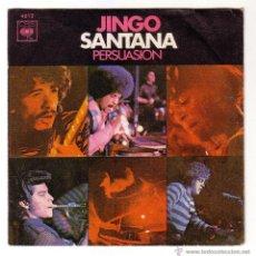 Discos de vinilo: SANTANA.SINGLE CBS.1970. Lote 49685546