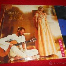 Discos de vinilo: NINA & FREDERIK LP 1968 BELTER EDICION ESPAÑOLA SPAIN. Lote 49687437