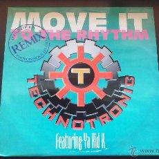 Discos de vinilo: TECHNOTRONIC - MOVE IT TO THE RHYTHM (REMIX) - 1994. Lote 49691754