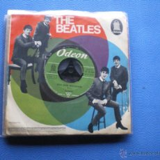 Discos de vinilo: THE BEATLES ROLL OVER BEETHOVEN/I WANT TO.. SINGLE ALEMANIA PDELUXE. Lote 49694244