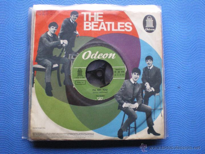 THE BEATLES SHE LOVES YOU/I´LL GET YOU SINGLE ALEMANIA PDELUXE (Música - Discos - Singles Vinilo - Pop - Rock Extranjero de los 50 y 60)