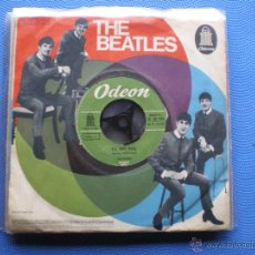 Discos de vinilo: THE BEATLES SHE LOVES YOU/I´LL GET YOU SINGLE ALEMANIA PDELUXE. Lote 49694289