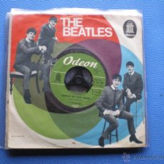 Discos de vinilo: THE BEATLES A HARD DAYS NIGHT/THING WE SAI.. SINGLE ALEMANIA PDELUXE. Lote 49694334