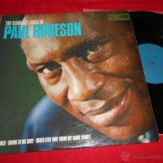 Discos de vinil: PAUL ROBESON THE GLORIOUS VOICE OF LP 196? MUSIC FOR PLEASURE EDICION INGLESA ENGLAND UK. Lote 49696644