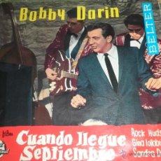 Discos de vinilo: BOBBY DARIN - MULTIPLICACION EP - ORIGINAL ESPAÑOL - BELETER RECORDS 1962 - MONOAURAL -. Lote 49700090