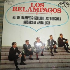 Discos de vinilo: LOS RELAMPAGOS - NIT DE LLAMPECS EP - ORIGINAL ESPAÑOL - NOVOLA RECORDS 1965 - MONOAURAL.. Lote 49701578