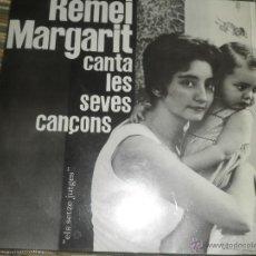 Discos de vinilo: REMEI MARGARIT CANTA LES SEVES CANÇONS EP - ORIGINAL ESPAÑOL - EDIGSA 1962 CON ENCARTE (LETRAS) MONO. Lote 49701706