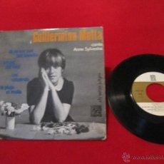 Discos de vinilo: GUILLERMINA MOTTA - JO NO SOC PAS TAN BENEITA / L'AMANT DEL VENT + 2 - CONCENTRIC 1966. Lote 49703281