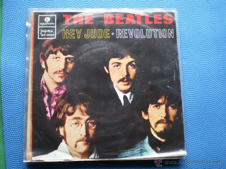 THE BEATLES HEY JUDE/REVOLUTION SINGLE YUGOSLAVIA 1968 PDELUXE (Música - Discos - Singles Vinilo - Pop - Rock Extranjero de los 50 y 60)