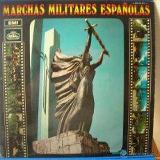 Discos de vinilo: MARCHAS MILITARES ESPAÑOLAS -LP. Lote 49707014