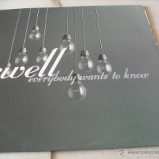 Discos de vinilo: SWELL LP EVERYBODY WANTS TO KNOW BEGGARS BANQUET ORIGINAL UK 2001. Lote 49715117