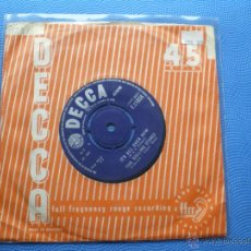 Discos de vinilo: THE ROLLING STONES IT´S ALL OVER NOW/GOOD TIMES .... SINGLE UK 1964 PDELUXE. Lote 49718777
