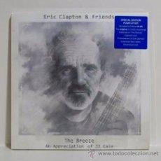 Discos de vinilo: ERIC CLAPTON & FRIENDS - '' THE BREEZE '' 4 LP SPECIAL EDITION BOX SET SEALED. Lote 49720112