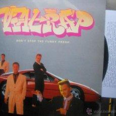 Disques de vinyle: LP''VIAL RAP''-(ESPAÑOL,1990)-CONT.HOJA INFORMATIVA. Lote 49720473