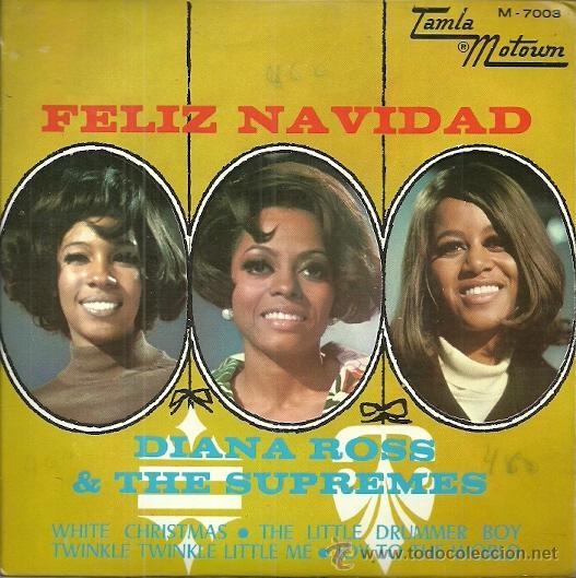DIANA ROSS & THE SUPREMES EP SELLO TAMLAMOTOWN AÑO 1968 EDITADO EN ESPAÑA (Música - Discos de Vinilo - EPs - Funk, Soul y Black Music)