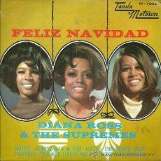 Discos de vinilo: DIANA ROSS & THE SUPREMES EP SELLO TAMLAMOTOWN AÑO 1968 EDITADO EN ESPAÑA. Lote 49721147