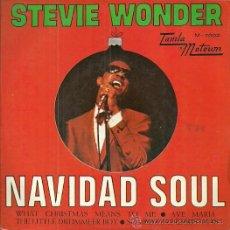 Discos de vinilo: STEVIE WONDER EP SELLO TAMLAMOTOWN AÑO 1968 EDITADO EN ESPAÑA. Lote 49721159